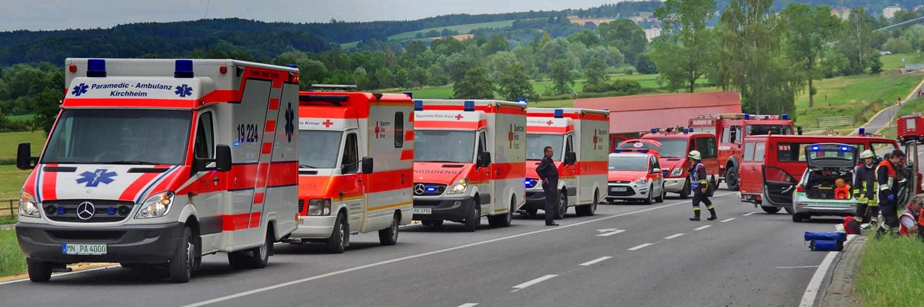 Paramedic – Katastrophenschutz