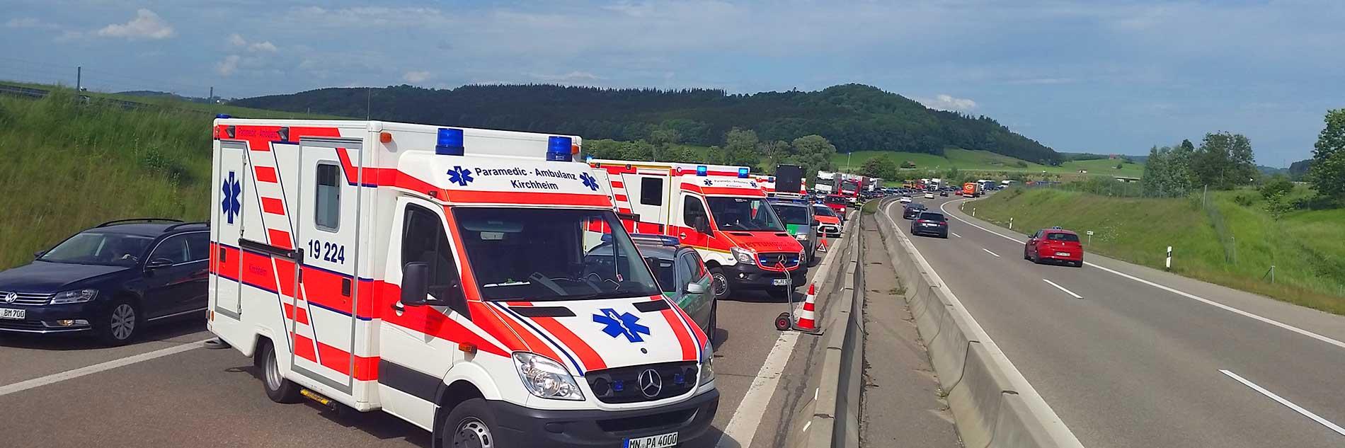 Paramedic – Ambulanz Kirchheim:  Einsatzleiter Rettungsdienst (ELRD)