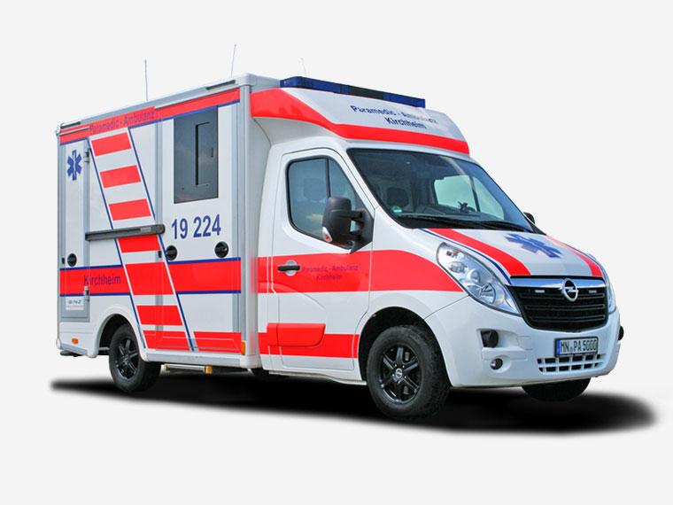 Paramedic-Ambulanz Kirchheim – Krankentransporte für Selbstzahler