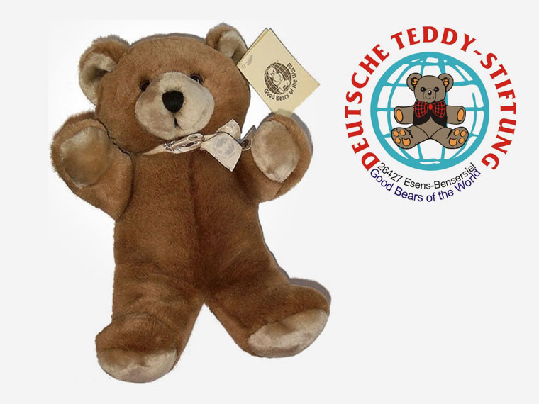 Deutsche Teddy-Stiftung verschenkt Teddybären